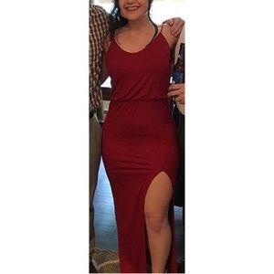 Red Maxi Dress OBO